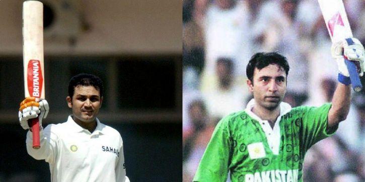 Virender Sehwag made 309 vs Pakistan