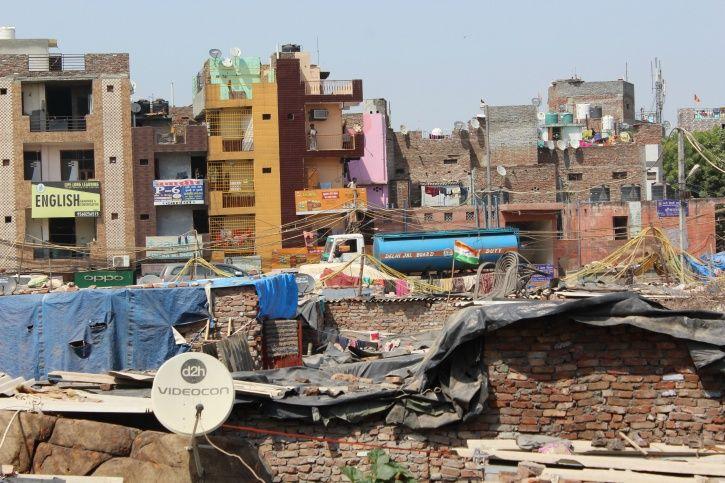 Water crisis, gulshan chowk,