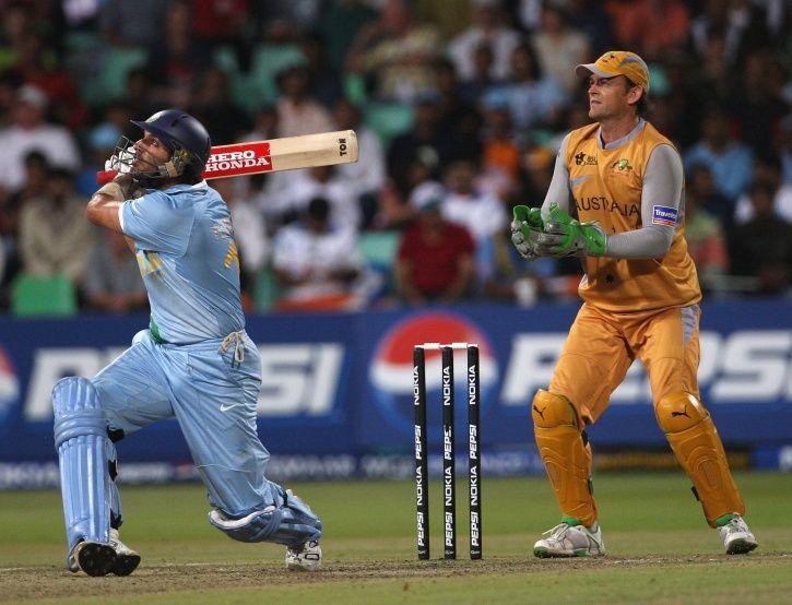 Yuvraj Singh made 70 in 30 balls