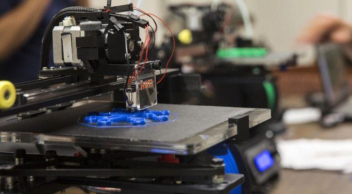 3D-printed heart