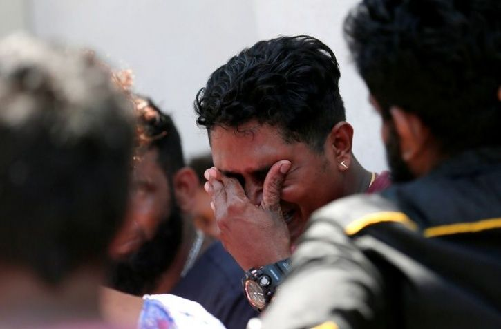 A string of blasts ripped through high-end hotels and churches holding Easter services in Sri Lanka