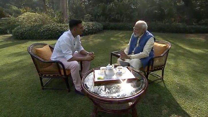 Akshay Kumar and Modi