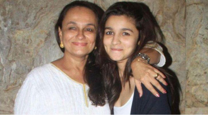 Alia Bhatt with mother Soni Razdan.
