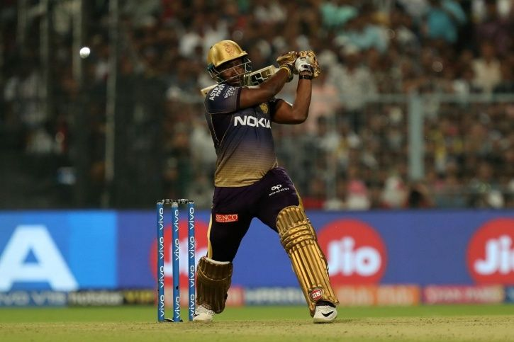 Andre Russell slammed 48 not out
