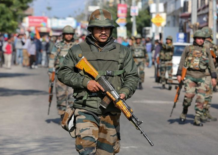 Armed Forces Special Powers Act, AFSPA, Arunachal Pradesh, India, districts