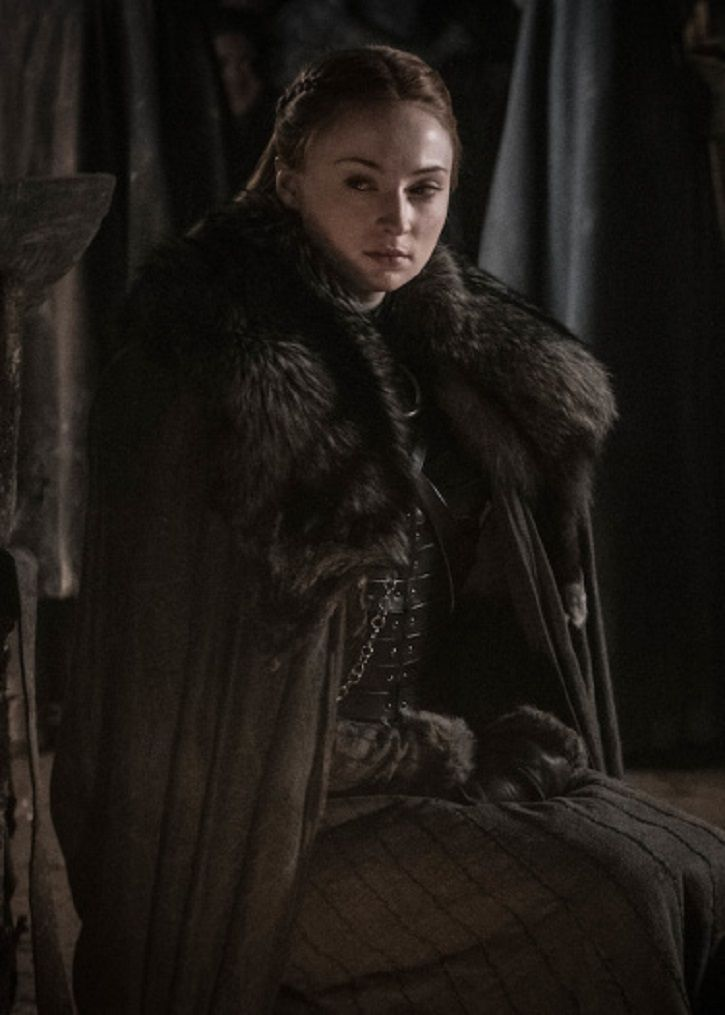 at the battle of winterfell in Game of Thrones season 8 episode 3.