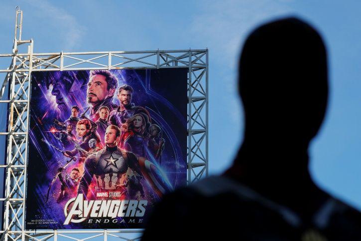 Avengers Endgame billboard.