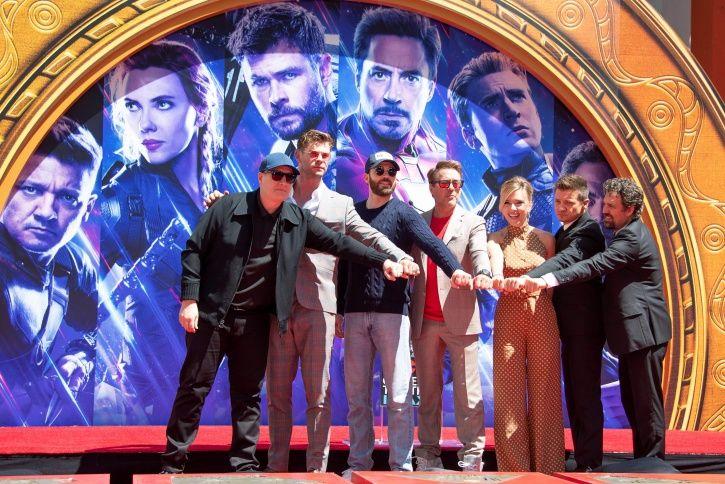 Avengers Endgame cast.