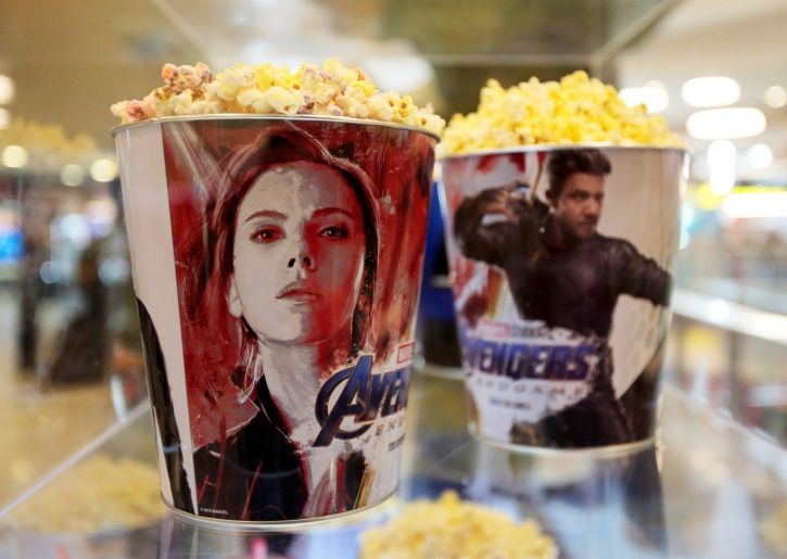 Avengers Endgame popcorns.