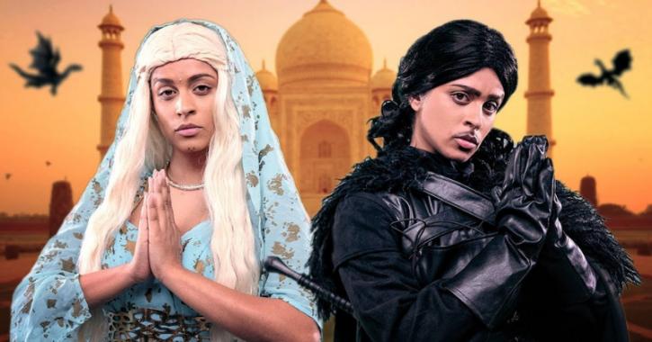 Cersei-Jamie celebrating Rakhi, Jon Snow dancing on Malhari, Lily Singh's Desi Game of Thrones spoof