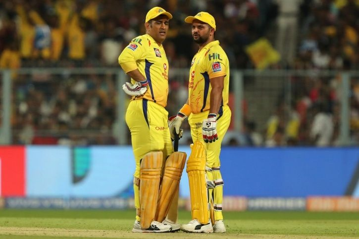 Chennai Super Kings are the defending champions
