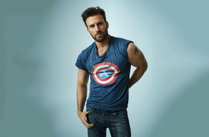 Chris Evans AKA Captain America from Avengers: Endgame.