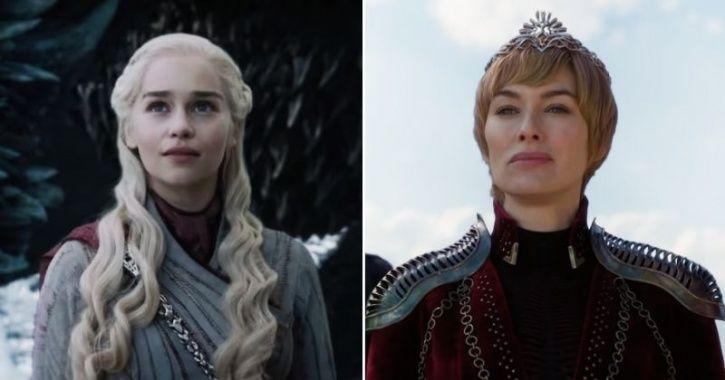 Daenerys Targaryen in game of thrones season 8 episode 4 promo.