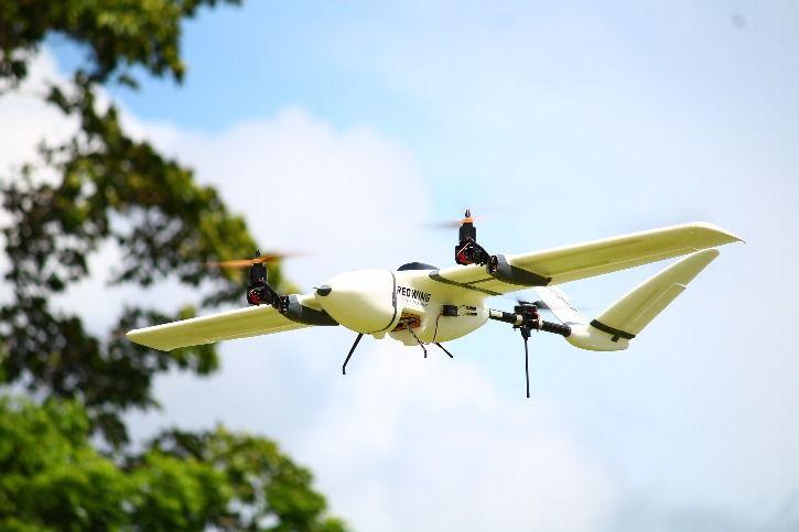 Drones Delivering Blood