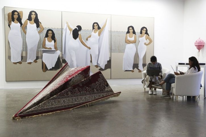 Dubai art fair, India, Pakistan, exhibition, artists, Muzzumil Ruheel
