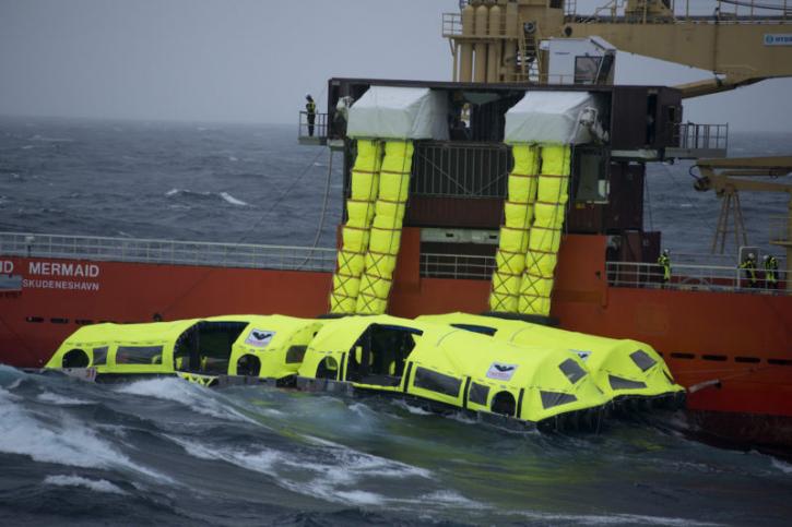 Electric Propulsion System, Electric Liferaft, LifeCraft, Torqeedo, Marine Passenger Safety System,