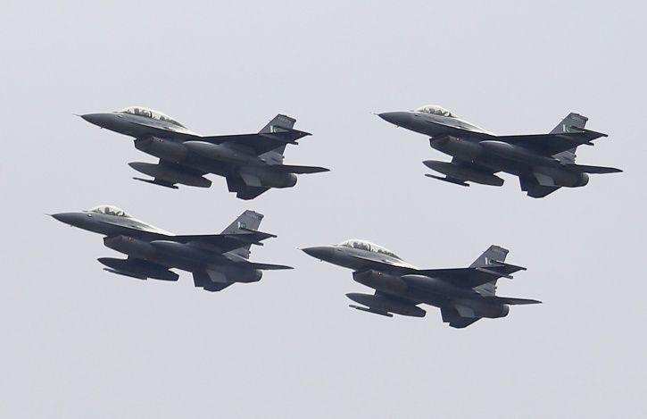 F-16 Shot Down