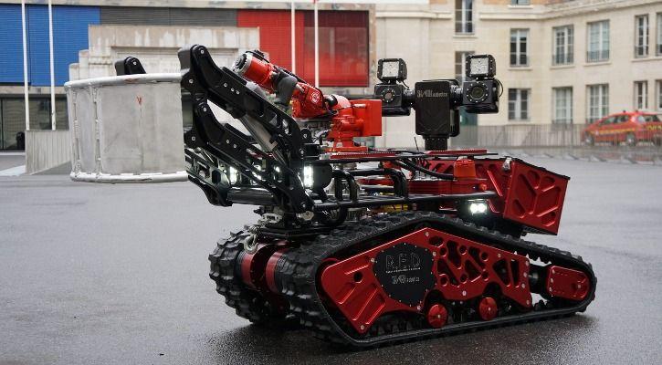 firefighting robot