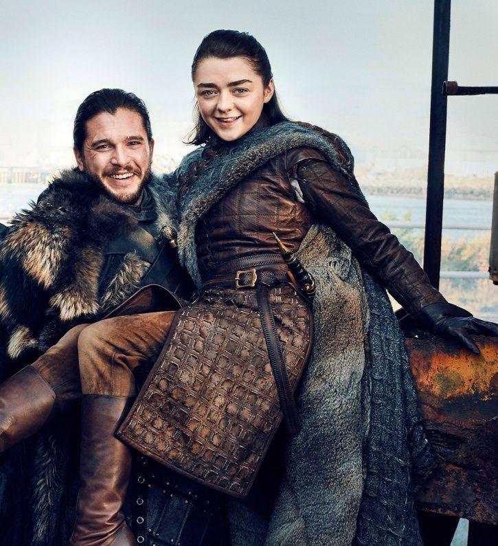 Game Of Thrones writer George RR Martin wanted Arya Stark to romance Jon Snow.