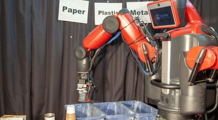 garbage robot