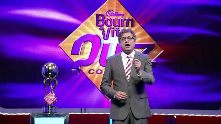Indian reality TV shows: Bournvita Quiz Contest hosted by Derek O'Brien.
