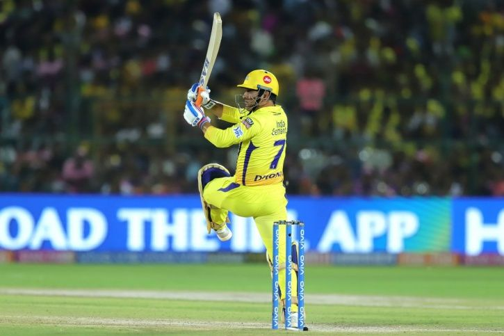 MS Dhoni made 58