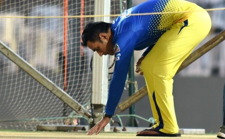 Ms Dhoni Unhappy With Chennai Pitch