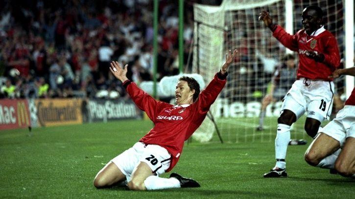 Ole Gunnar Solskjaer is a Manchester United player