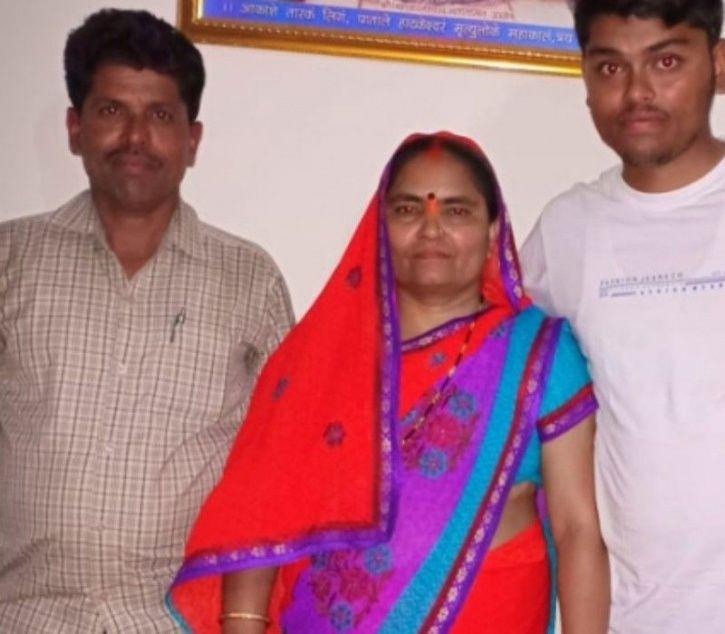 Pradeep Singh and  family
