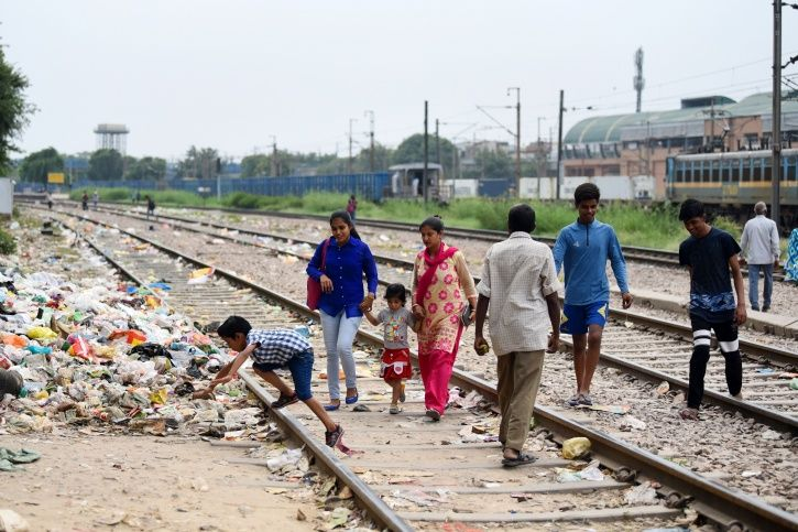 Railway theft, Naraina Vihar, encroachments, Mayapuri, patrolling,Government Railway Police