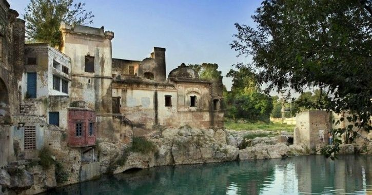 temples to be restored.