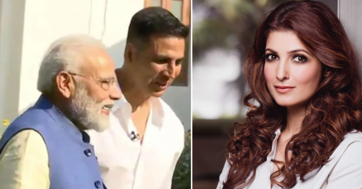 Twinkle Khanna responds to PM Narendra Modi mentioning about her in interview with Akshay Kumar.