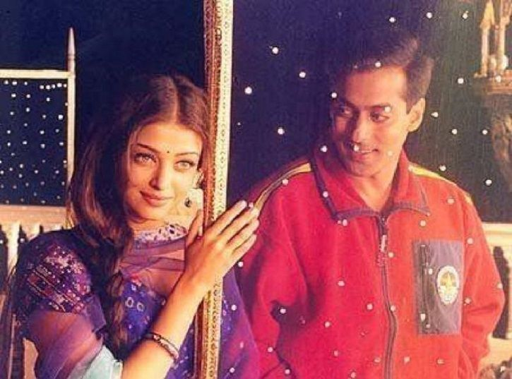 unseen picture of salman khan and aishwarya rai is going viral.