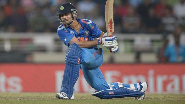 Virat Kohli scored 72 not out