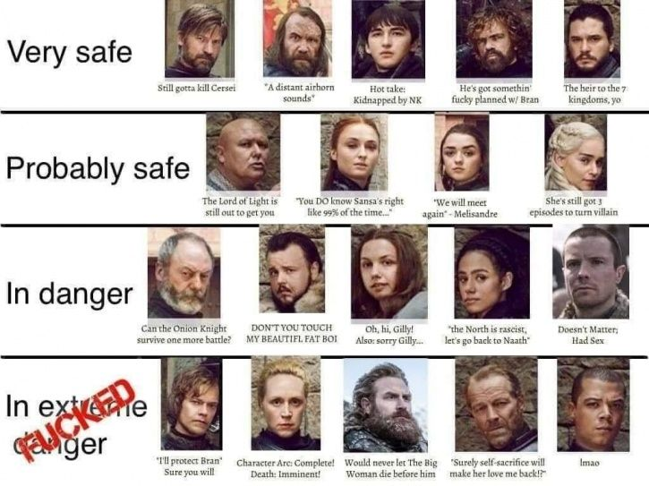 who will die in game of thrones episode three