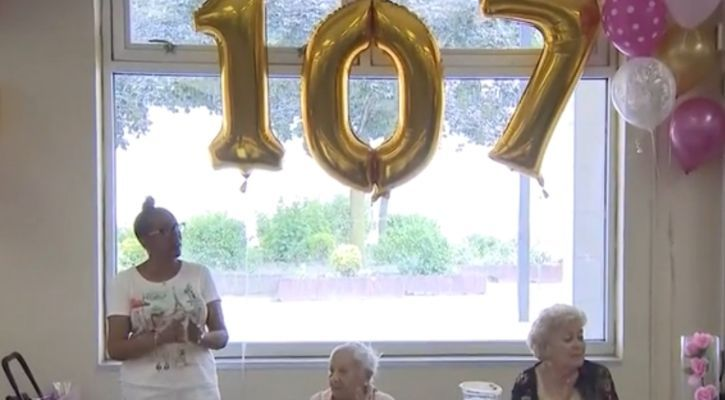 107 year old woman