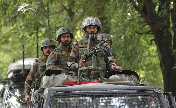 28000 soldier deployed in kashmir