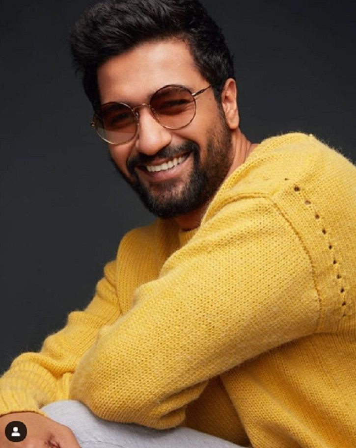 A picture of handsome hunk Vicky Kaushal.