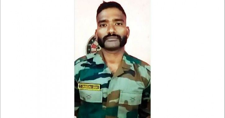 Army Jawan From Andhra Makes Video Requesting Officials To Save His Land From Govt Authorities