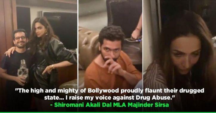 Bollywood stars doing drugs: Deepika, Vicky Kaushal, Malaika Arora, Ranbir Kapoor at Karan
