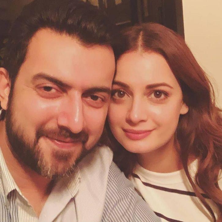 Dia Mirza and Sahil Sangha