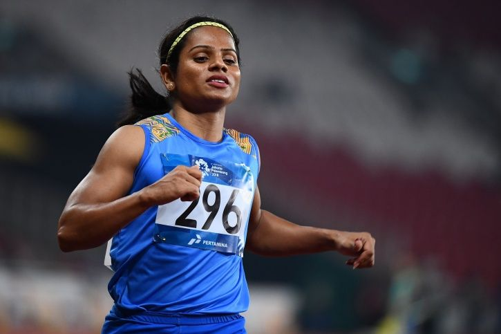 Dutee Chand clocked 11.42 seconds