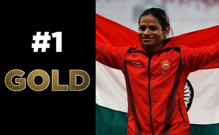 dutee chand win gold