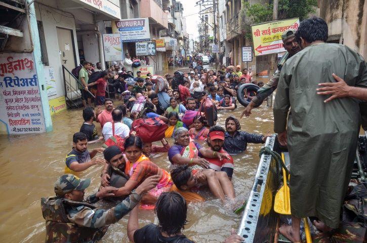 Gujarat Floods, Maharashtra Floods, Andhra Floods, Karnataka Floods, Kerala Floods