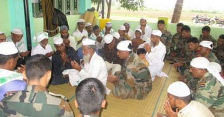In a bid to express gratitude, residents of Shirgur village near Raibag asked Army personnel who res