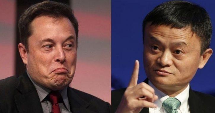 Jack Ma Elon Musk