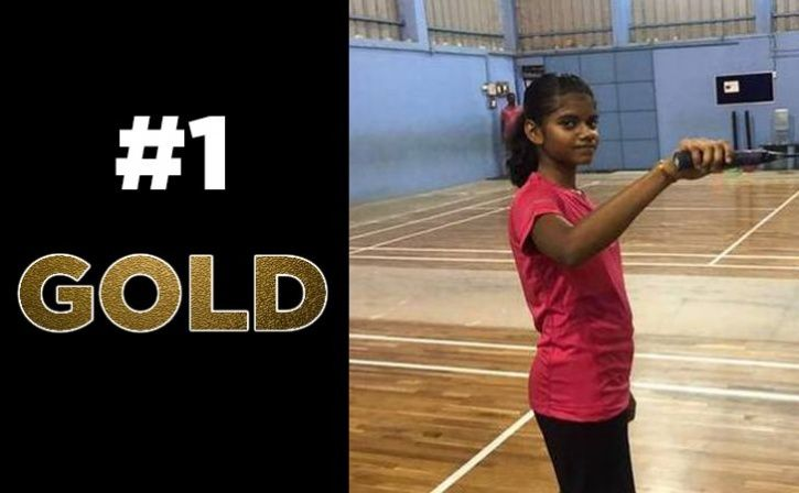 Jerlin Anika Win Gold