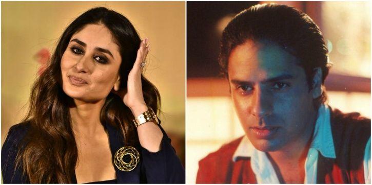 Kareena and Rahul Roy
