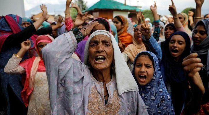 Kashmir Internet shutdown
