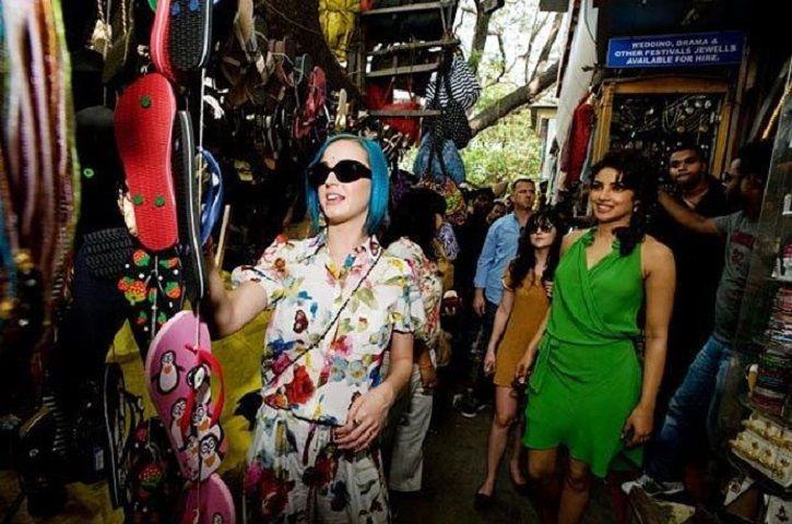 Katy Perry and Priyanka Chopra